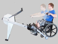 Adapt2row on Model E Indoor Rower